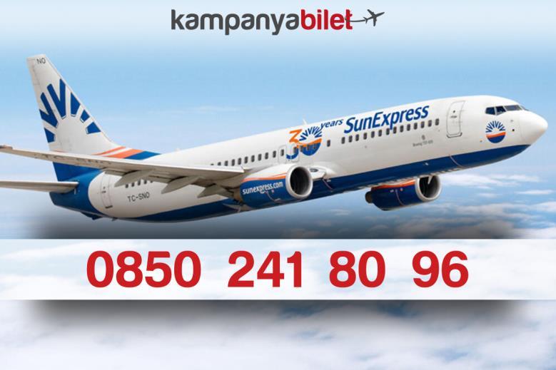Sun Express  Bilet İletişim Telefon