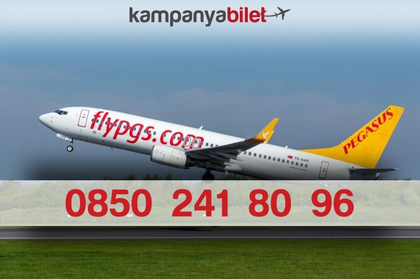 Pegasus Bilet İletişim Telefon