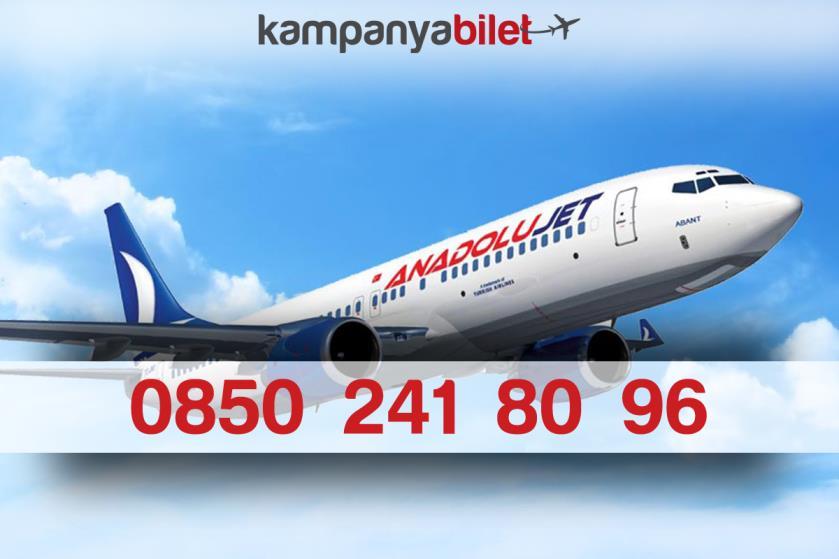 AnadoluJet Bilet İletişim Telefon