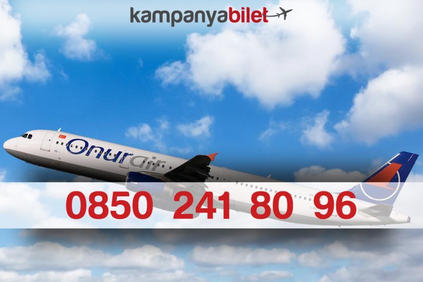 Onur Air Bilet İletişim Telefon