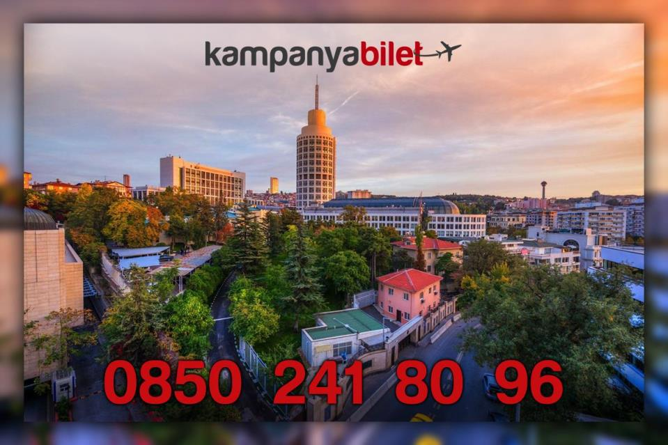 Ankara Uçak Bileti İletişim Telefonu