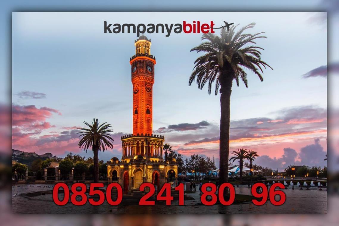 İzmir Uçak Bileti İletişim Telefonu