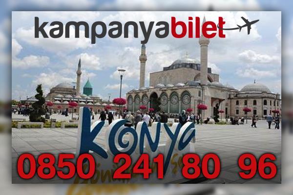Konya Uçak Bileti İletişim Telefonu