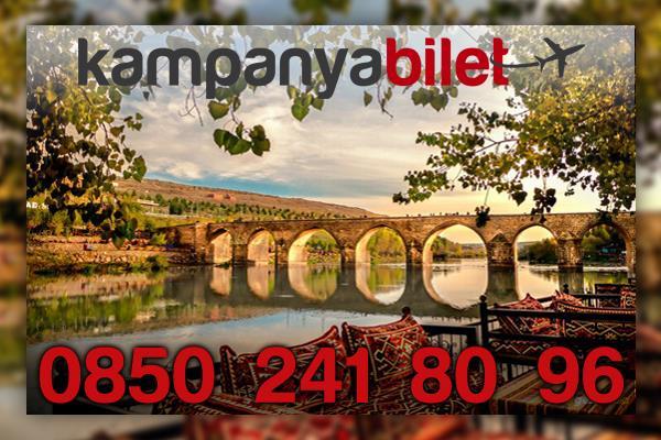Diyarbakır Uçak Bileti İletişim Telefonu
