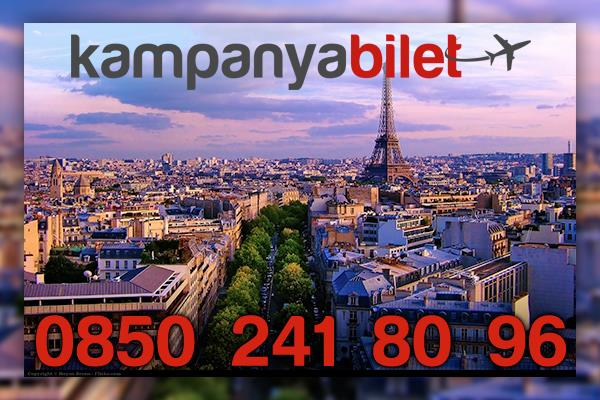 Paris Uçak Bilet İletişim