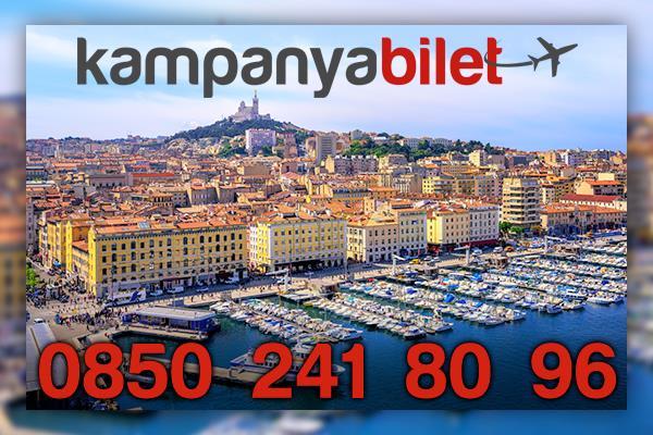 Marsilya Uçak Bilet İletişim