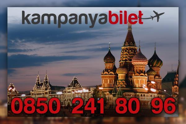 Moskova Uçak Bilet İletişim