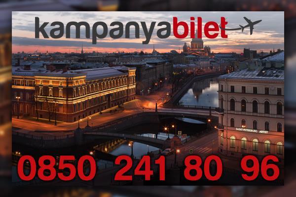 Sankt-Peterburg Uçak Bilet İletişim