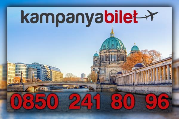 Tegel Berlin Uçak Bileti İletişim