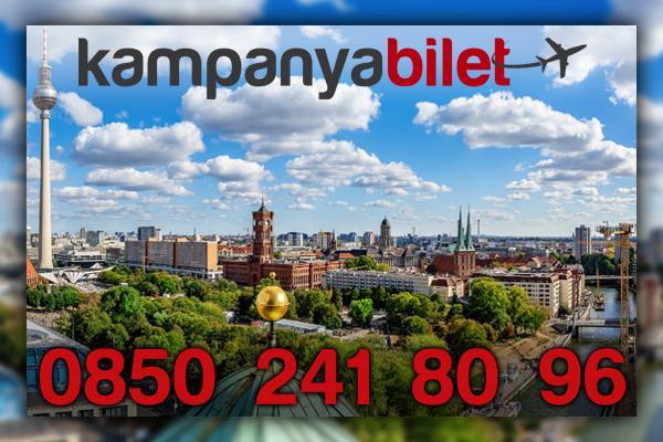Brandenburg Berlin Uçak Bileti İletişim