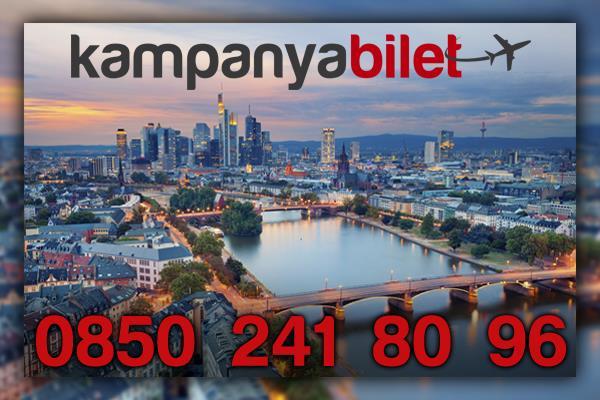 Frankfurt Uçak Bileti İletişim