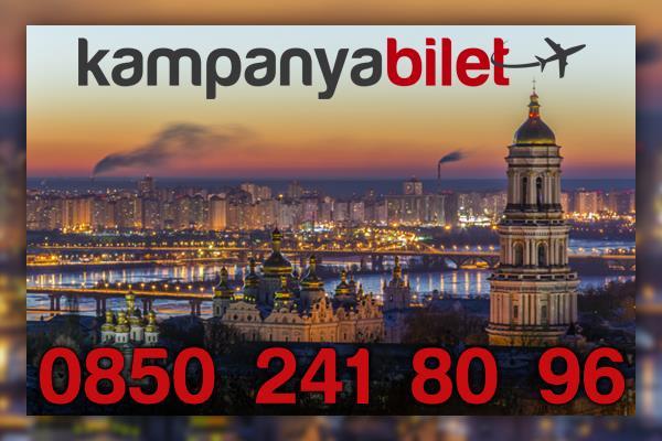 Kiev Uçak Bilet İletişim