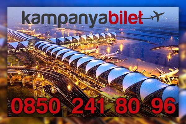 Suvarnabhumi Uluslararası Havalimanı Uçak Bilet İletişim