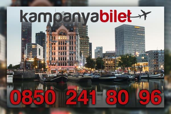 Rotterdam Uçak Bilet İletişim