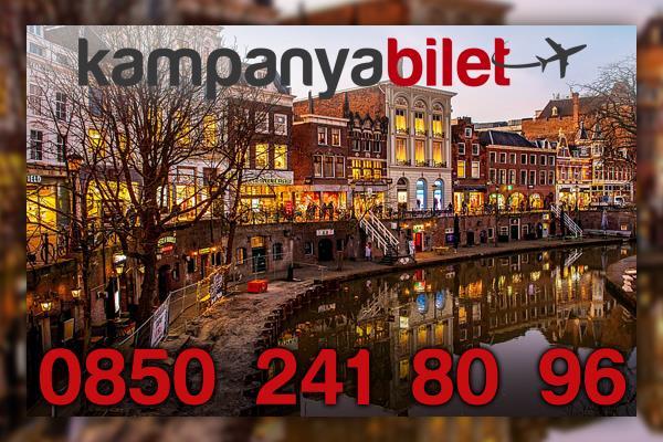 Utrecht Uçak Bilet İletişim