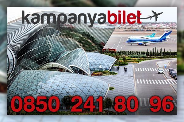 Haydar Aliyev Uluslararası Havalimanı Uçak Bileti İletişim Telefonu