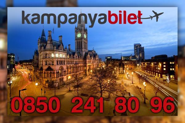 Manchester Uçak Bilet İletişim