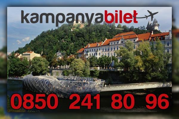 Graz Avusturya Uçak Bileti İletişim