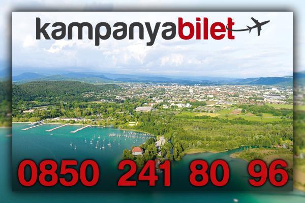 Klagenfurt Avusturya Uçak Bileti İletişim