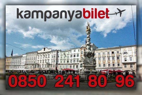 Linz Avusturya Uçak Bileti İletişim
