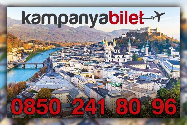 Salzburg Avusturya Uçak Bileti İletişim