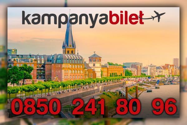 Düsseldorf Almanya Uçak Bileti İletişim