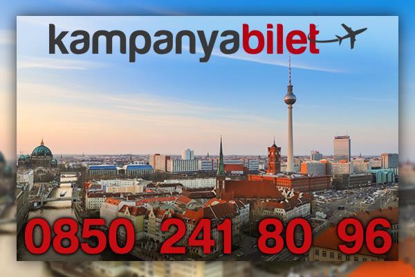 Berlin Uçak Bileti İletişim