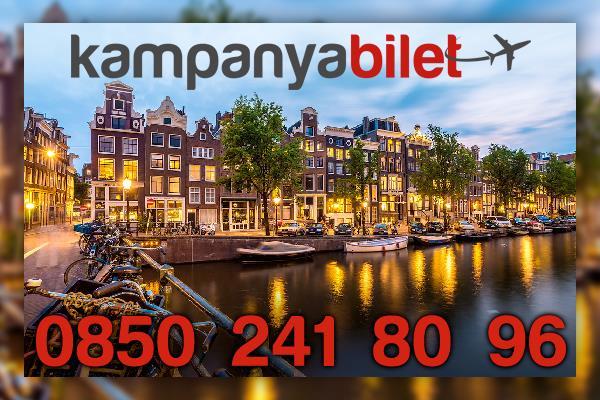 Amsterdam Uçak Bileti İletişim