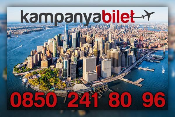 New York Uçak Bileti İletişim