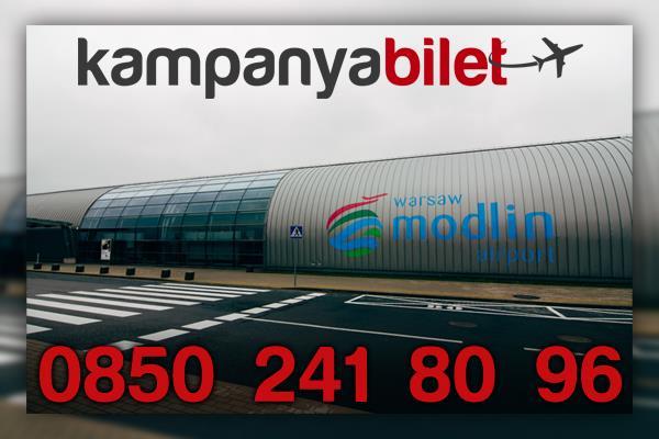 Warsaw Modlin Havalimanı Uçak Bileti İletişim
