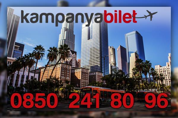 Los Angeles Uçak Bileti İletişim