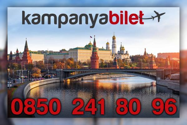 Rusya  Uçak Bileti İletişim