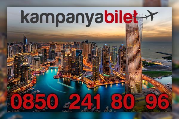 Dubai Uçak Bileti İletişim