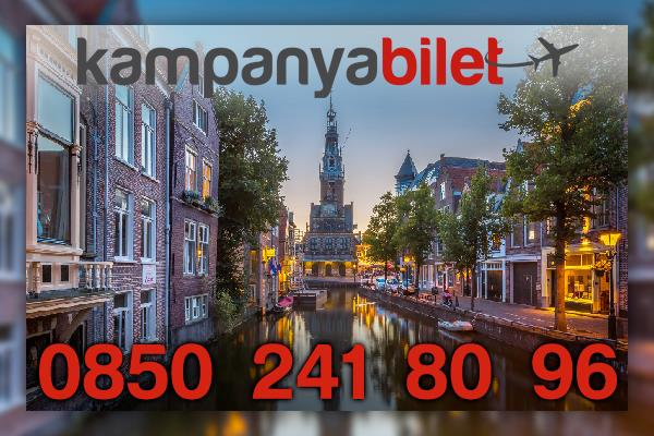 Hollanda Uçak Bileti İletişim